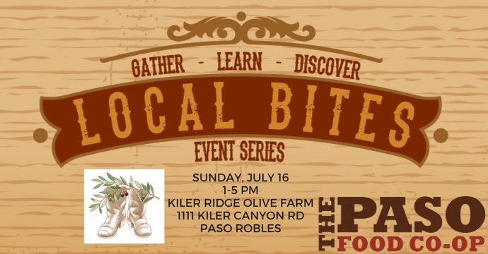 Local Bites event to learn more about the Paso Robles CO-OP