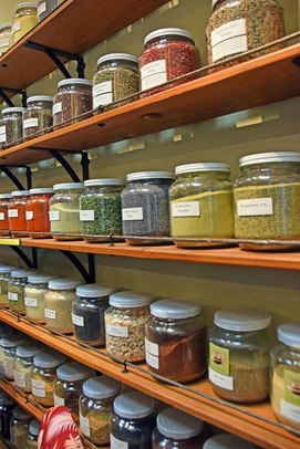 Authentic organic spices only at the Paso Robles Co-op